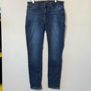 Lucky Brand Brooklyn Skinny Dark Wash Jeans 14R